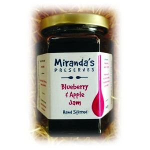 Miranda's Preserves 120g Blueberry & Apple Jam