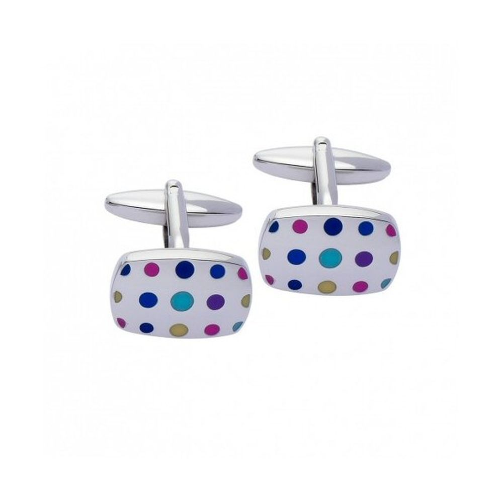 Gaventa London Multi-Coloured Cufflinks