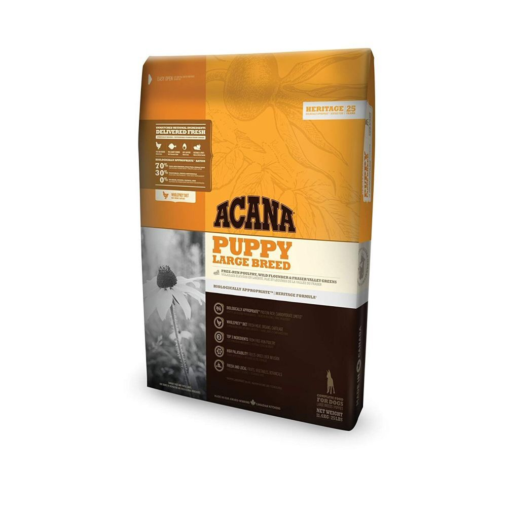 Acana 11.4kg Puppy Large Breed Dog Food
