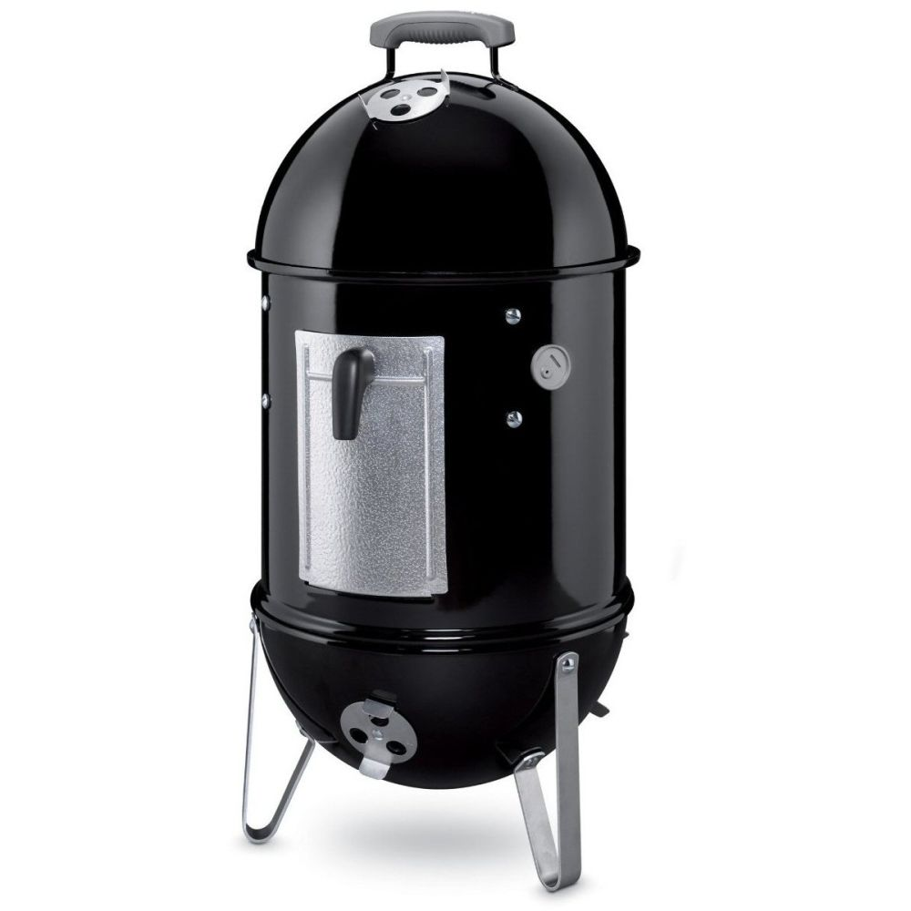 Weber 37cm Smokey Mountain Cooker Smoker