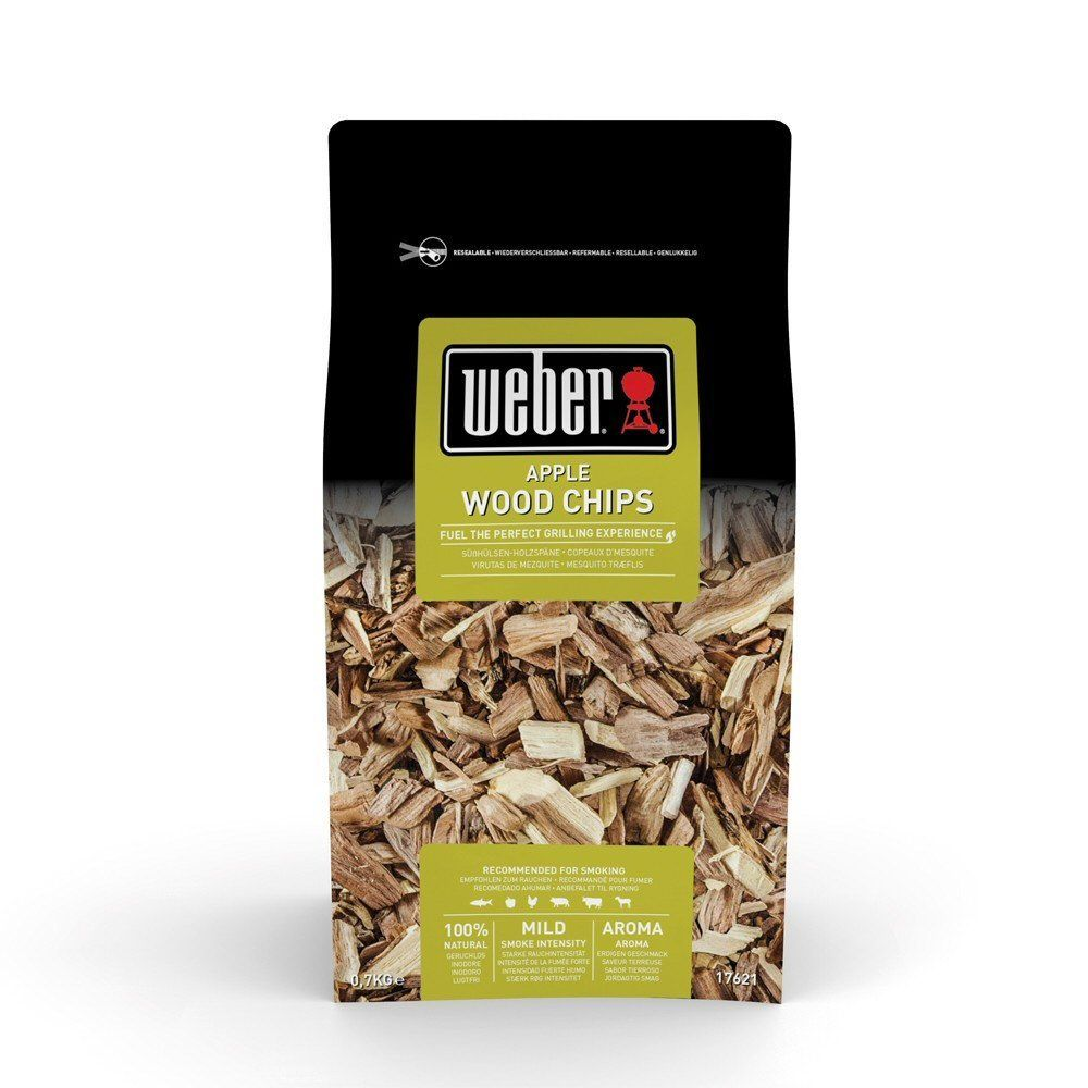 Weber 0.7kg Apple Barbecue Wood Chips - 17621