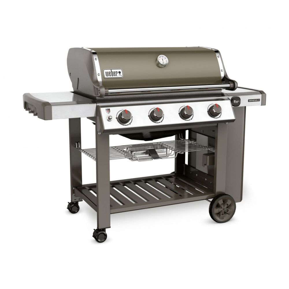 Weber Smoke Grey Genesis II E410 Gas Barbecue