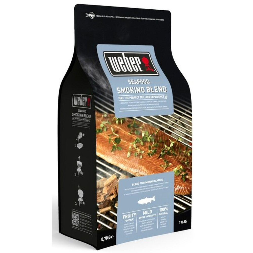 Weber 0.7kg Seafood Smoking Blend Wood Chips - 17665