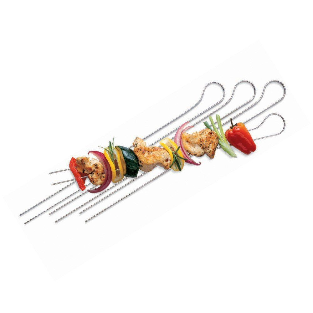 Weber Pack of 8 Double Pronged Skewers - 8402