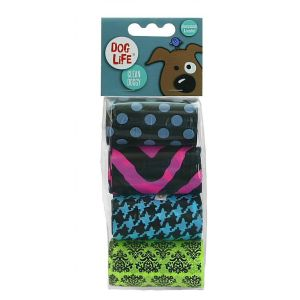 Dog Life 4 x 20 Biodegradable & Scented Poop Bags