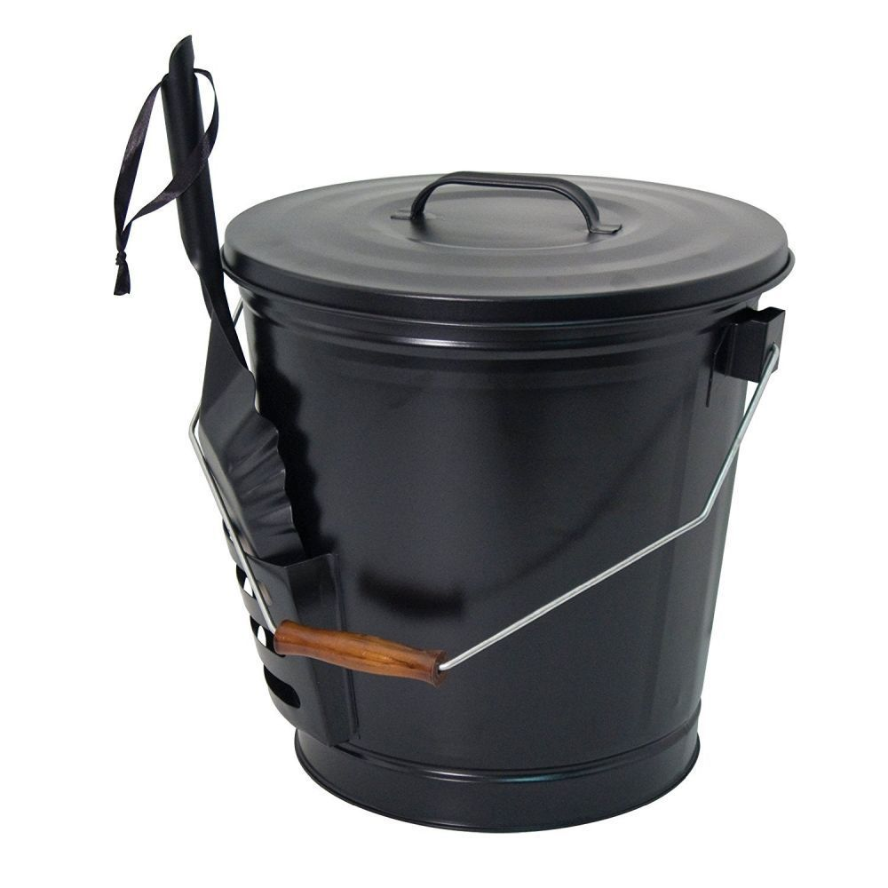 Panacea 56cm Black Ash Bucket with Shovel