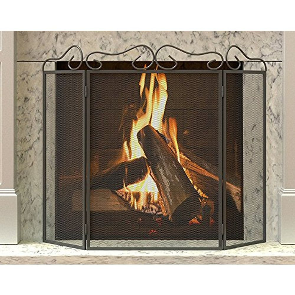 Panacea 3 Panel Fire Screen