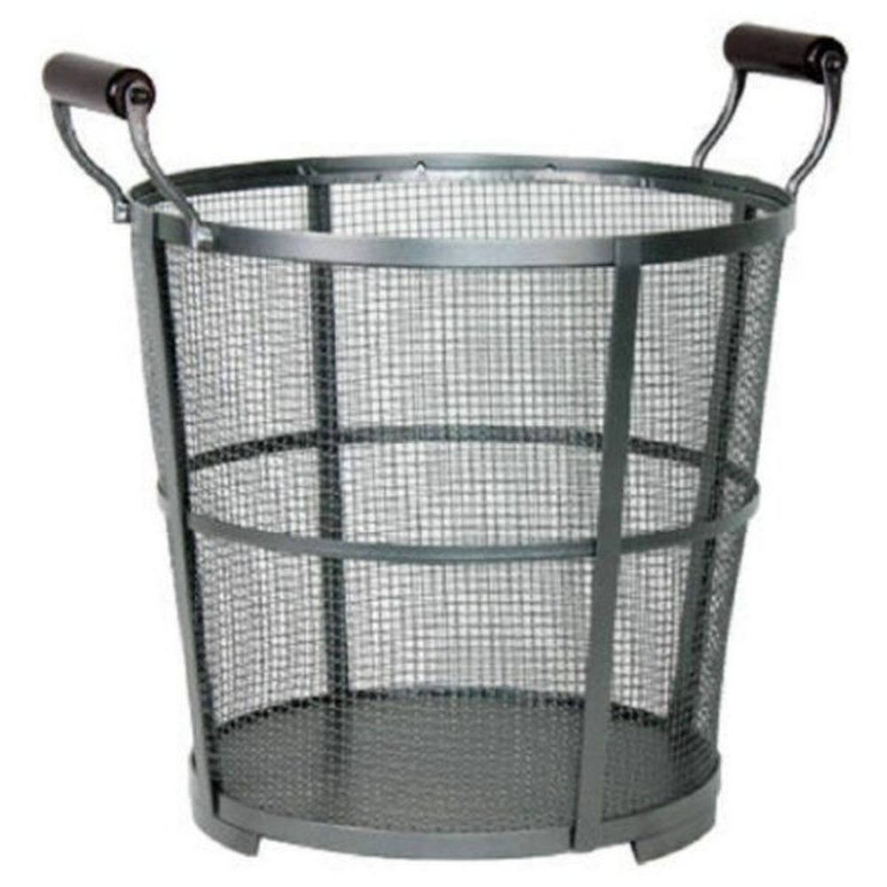 Panacea Large Round Iron Prairie Log Bin - 15704