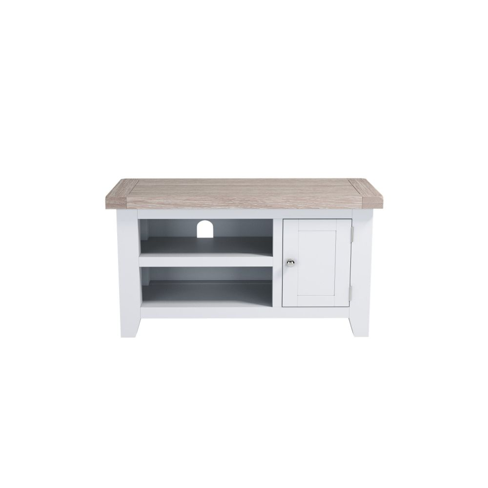 Painted Oak Small TV Unit