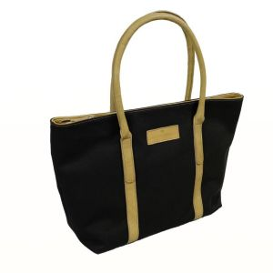 Hayley Hanson Large Chocolate Leather Trimmed Brecon Tote Bag