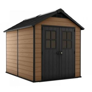 Keter 228cm x 350cm Wood Brown Newton 7511 Garden Shed