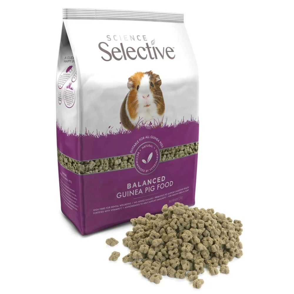 Supreme Petfoods 1.5kg Science Selective Guinea Pig Food