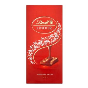 Lindt 100g Milk Chocolate Bar