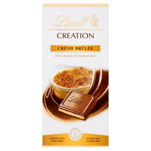 Lindt 150g Creation Creme Brulee Milk Chocolate