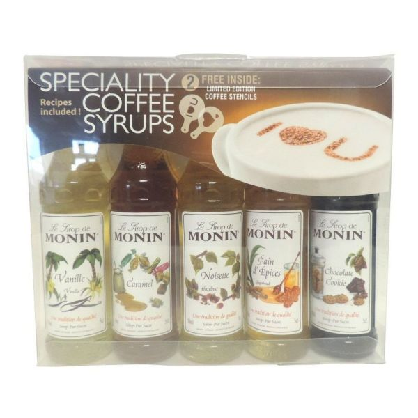 Monin Speciality Coffee Syrups Gift Set