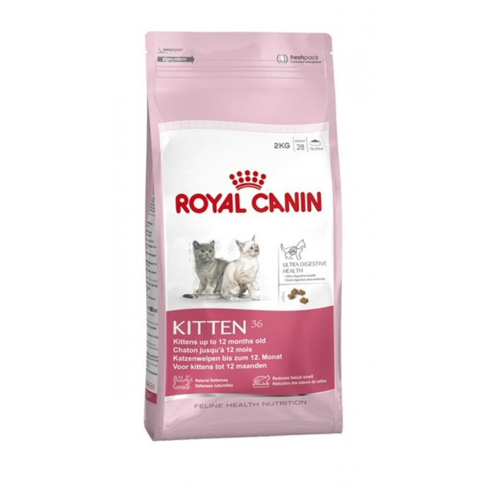 Royal Canin 2kg Kitten 36 Cat Food