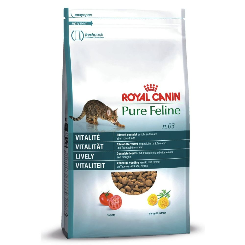 Royal Canin 1.5kg Pure Feline No3 Lively Cat Food