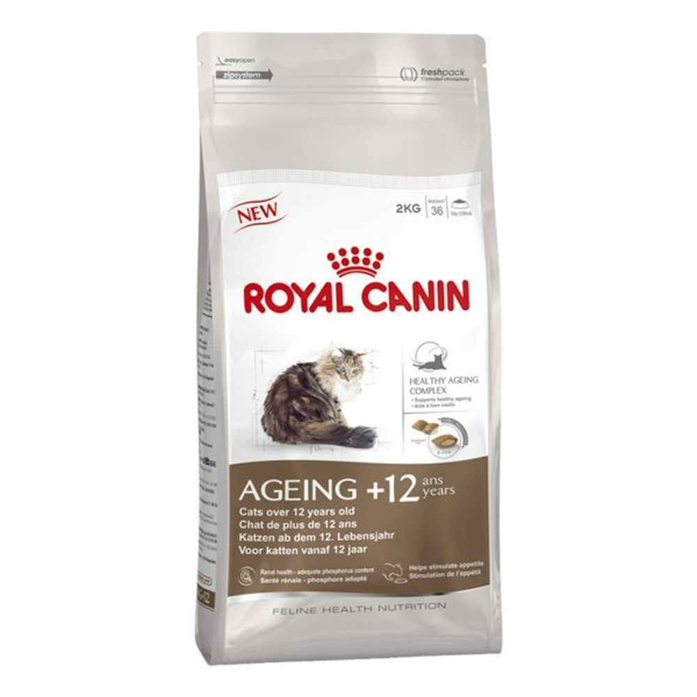 Royal Canin 2kg Ageing +12 Cat Food