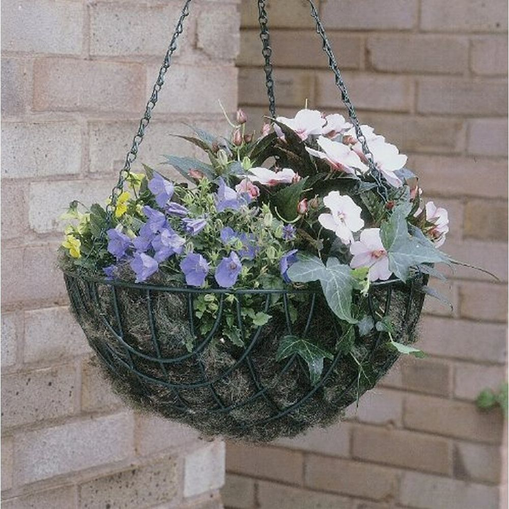 "Botanico 14"" Wire Hanging Basket"
