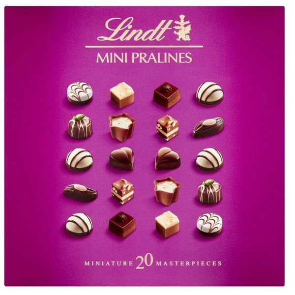 Lindt 100g Mini Pralines Chocolate Old Railway Line