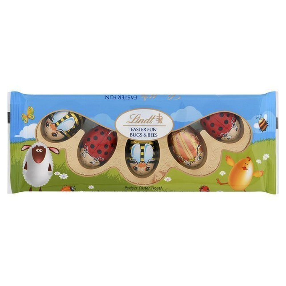 Lindt 50g Milk Chocolate Fun Bugs & Bees