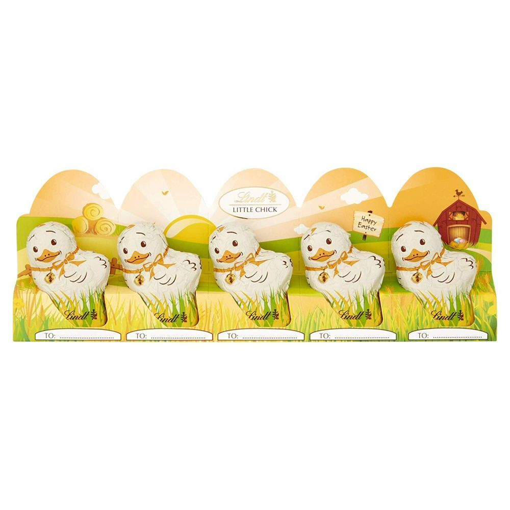 Lindt 5 Milk Chocolate Mini Easter Chicks