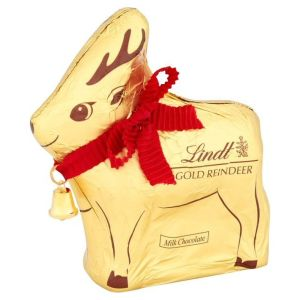 Lindt 12g Christmas Gold Reindeer Chocolate