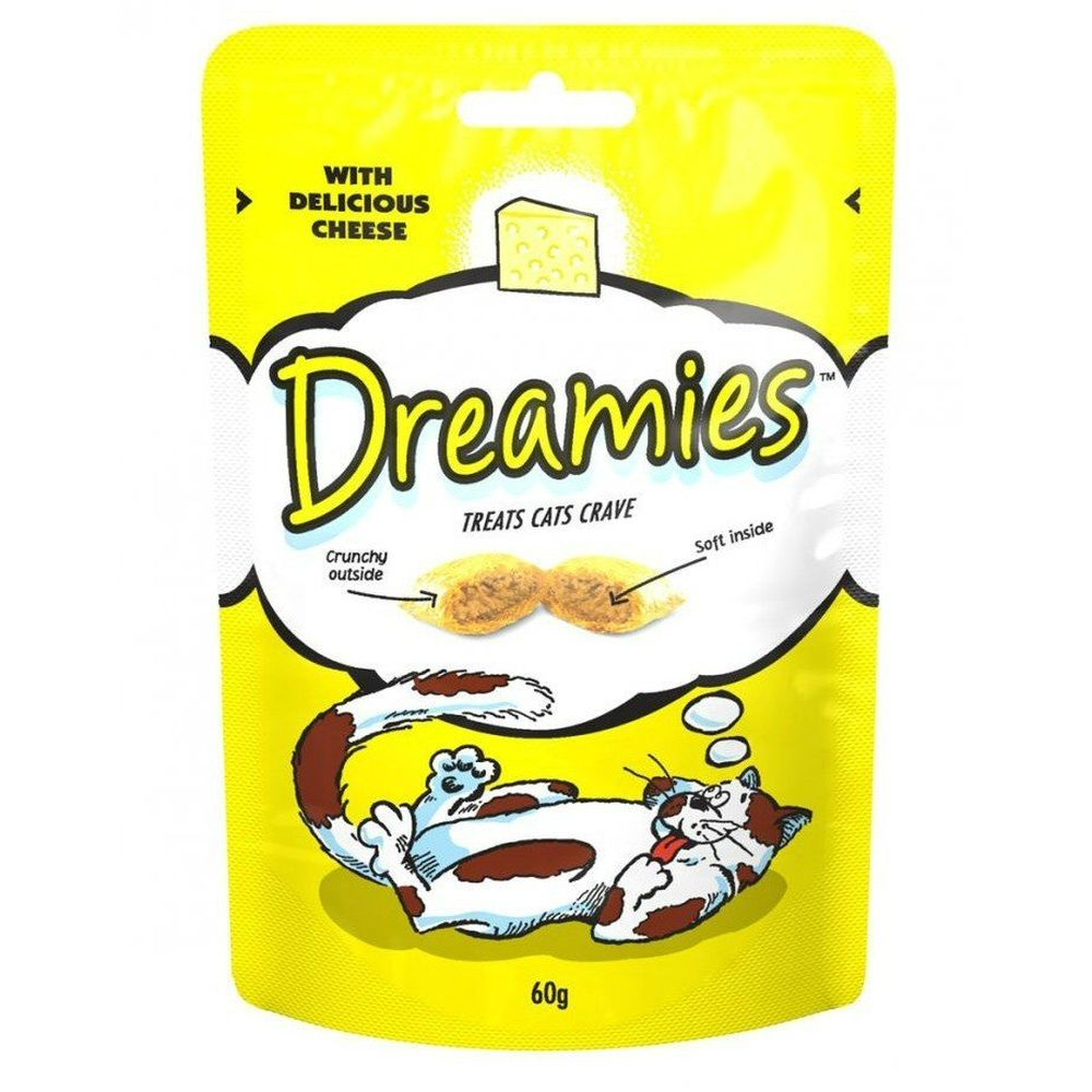 Dreamies 60g Delicious Cheese Cat Treat