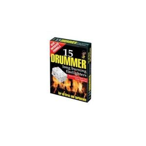 Drummer 15 Compact White Firelighters