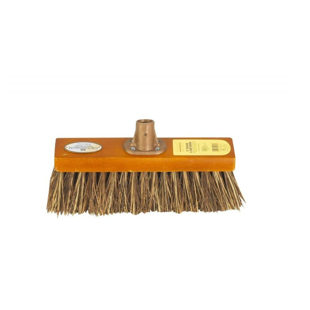 Groundsman 13 Inch Bassine Cane Broom Head