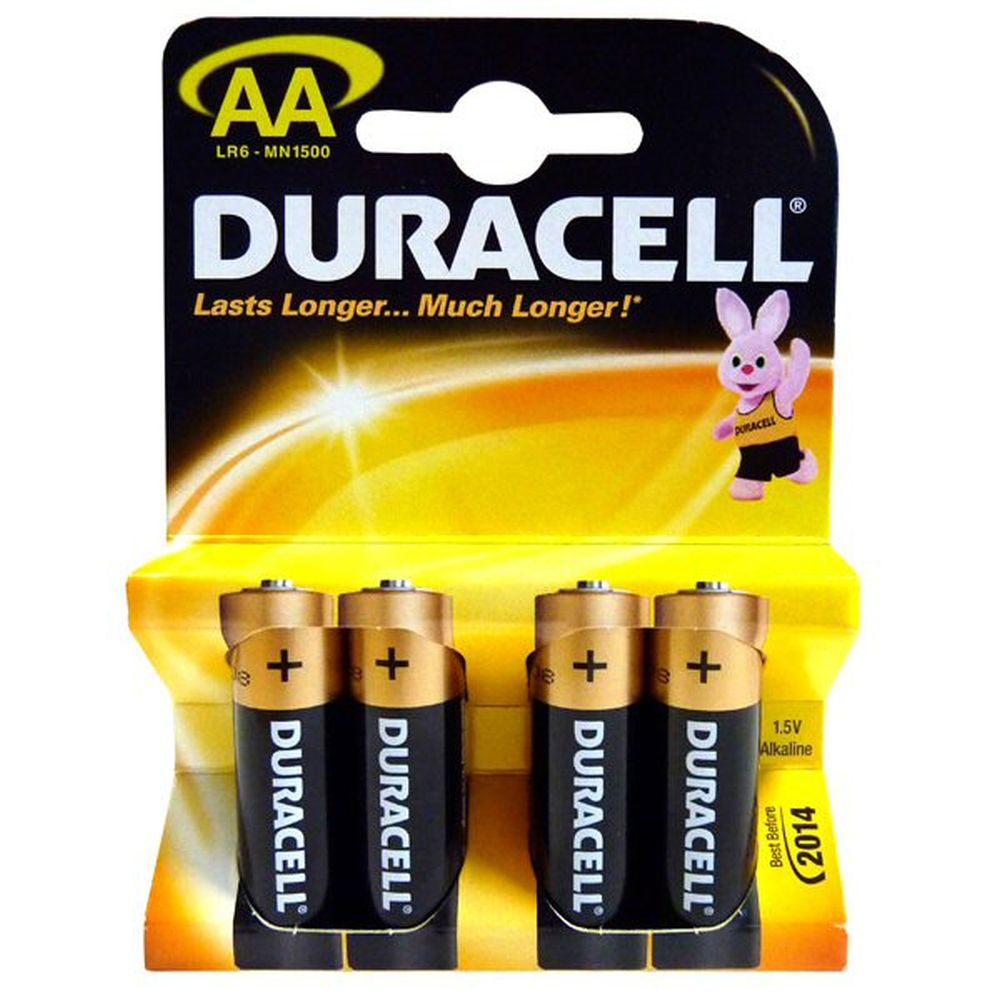 Duracell Simply AA Batteries (Pack of 4)