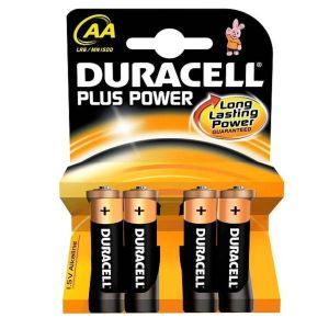 Duracell Pack of 4 AA Batteries