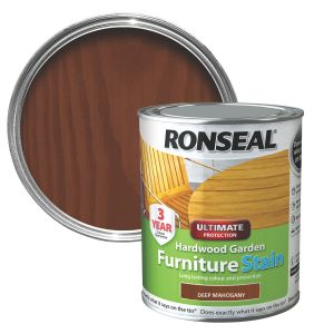 Ronseal 750ml Deep Mahogany Garden Furniture Stain