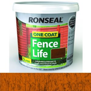 Ronseal 5 Litre Harvest Gold One Coat Fence Life