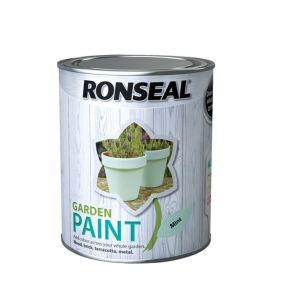 Ronseal 750ml Mint Garden Colour Paint