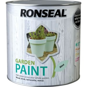 Ronseal 2.5 Litre Mint Garden Colour Paint