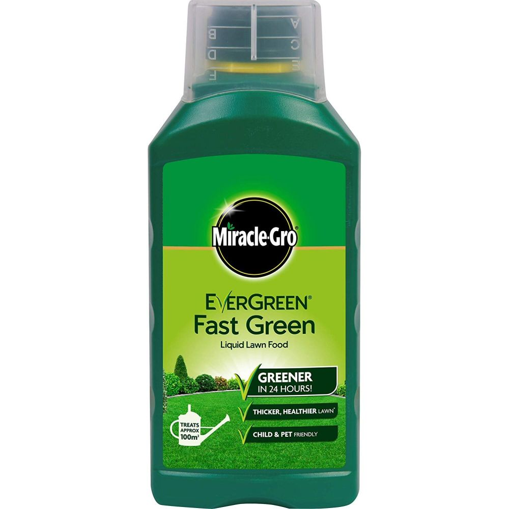 Miracle-Gro 1 Litre Evergreen Fast Green Liquid Concentrate