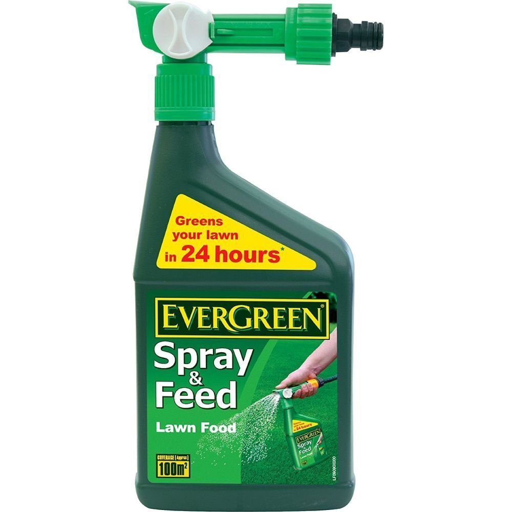 Evergreen 1 Litre Lawn Feed Spray