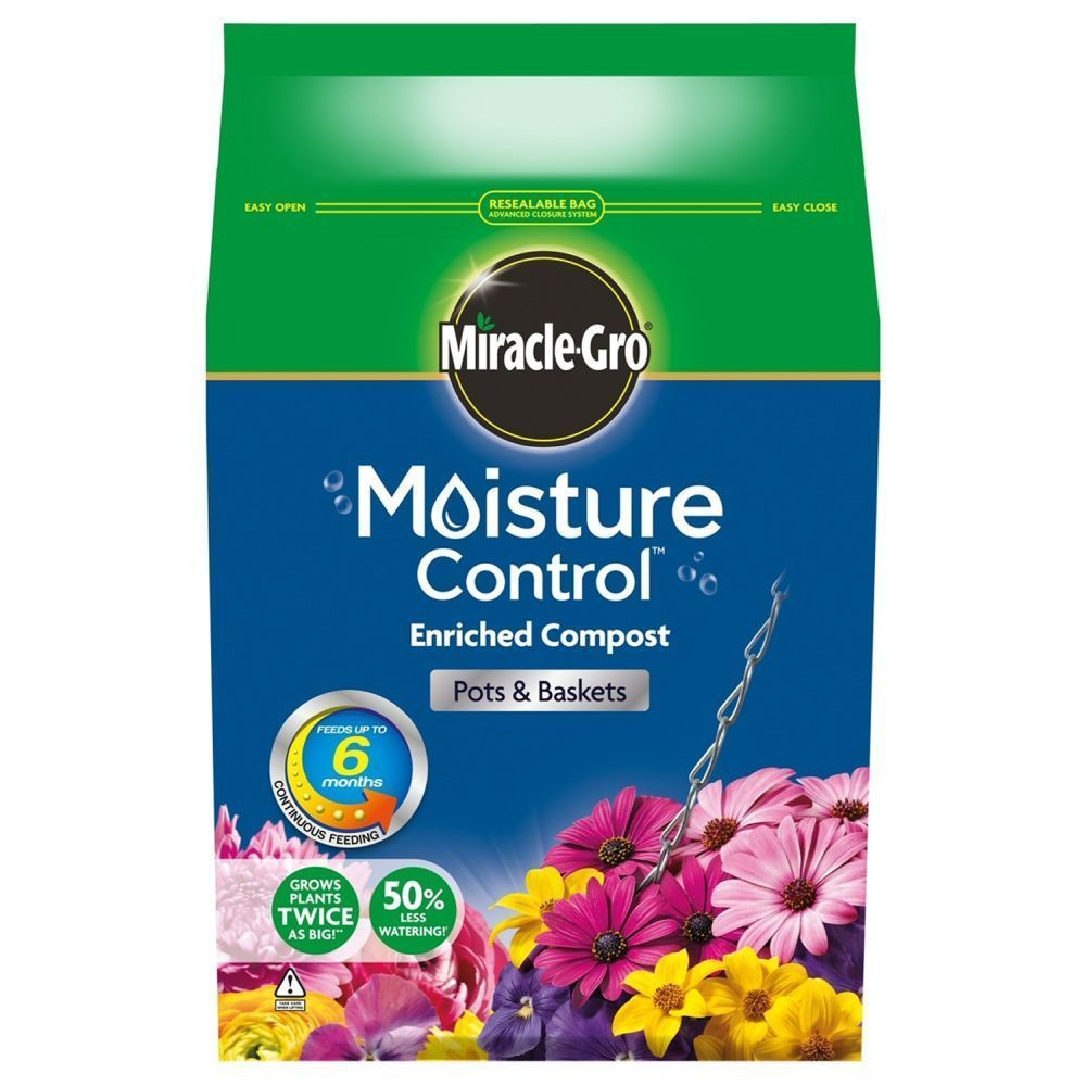 Miracle Gro 8 Litre Moisture Control Compost