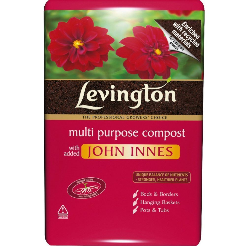 Levington 8 Litre Multi Purpose Compost with added John Innes