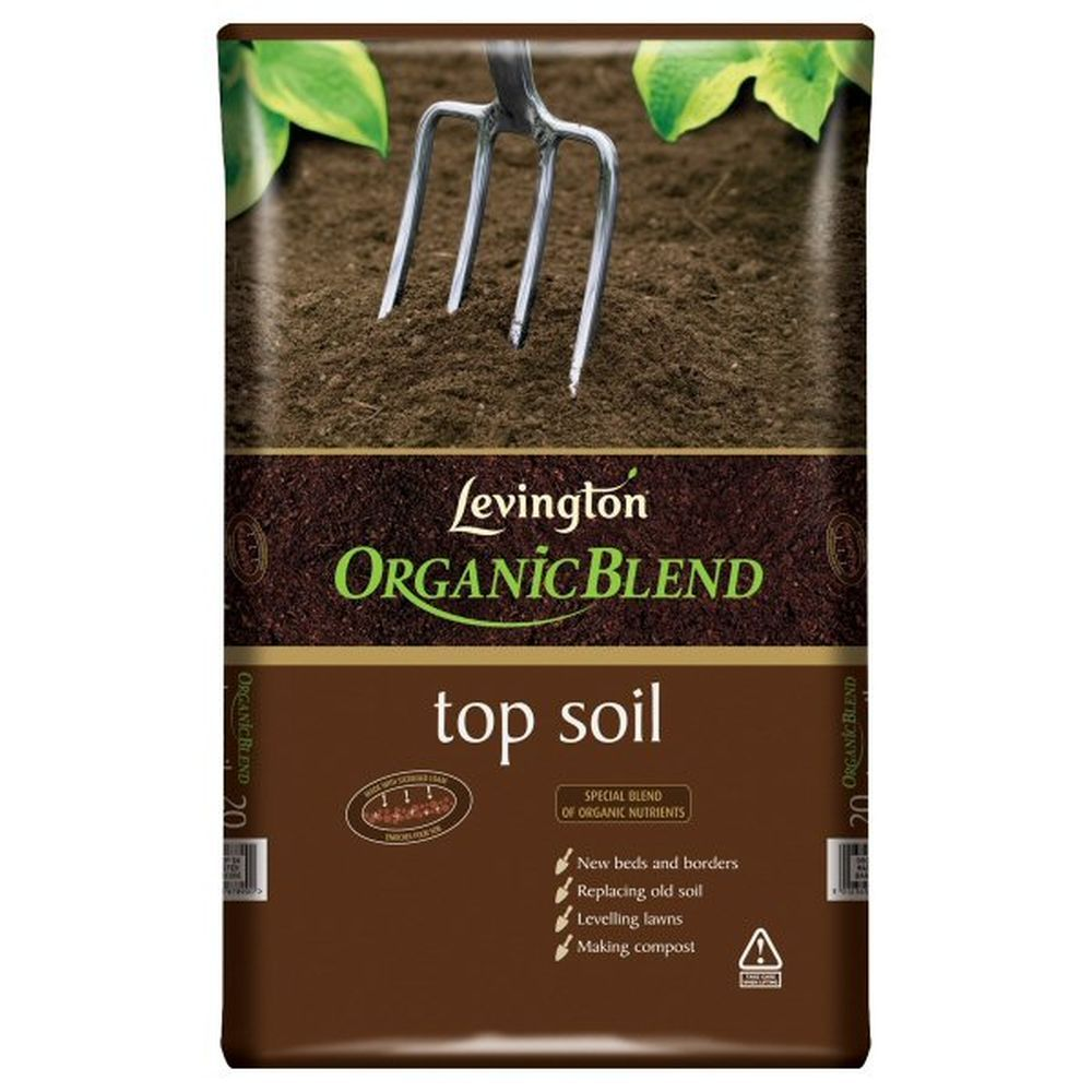 Levington 20 Litre Organic Blend Top Soil