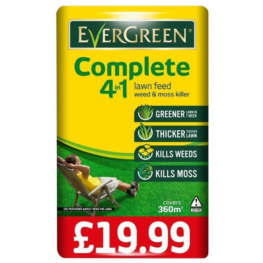 Evergreen Complete 4 in 1 Lawn Care 360 sqm