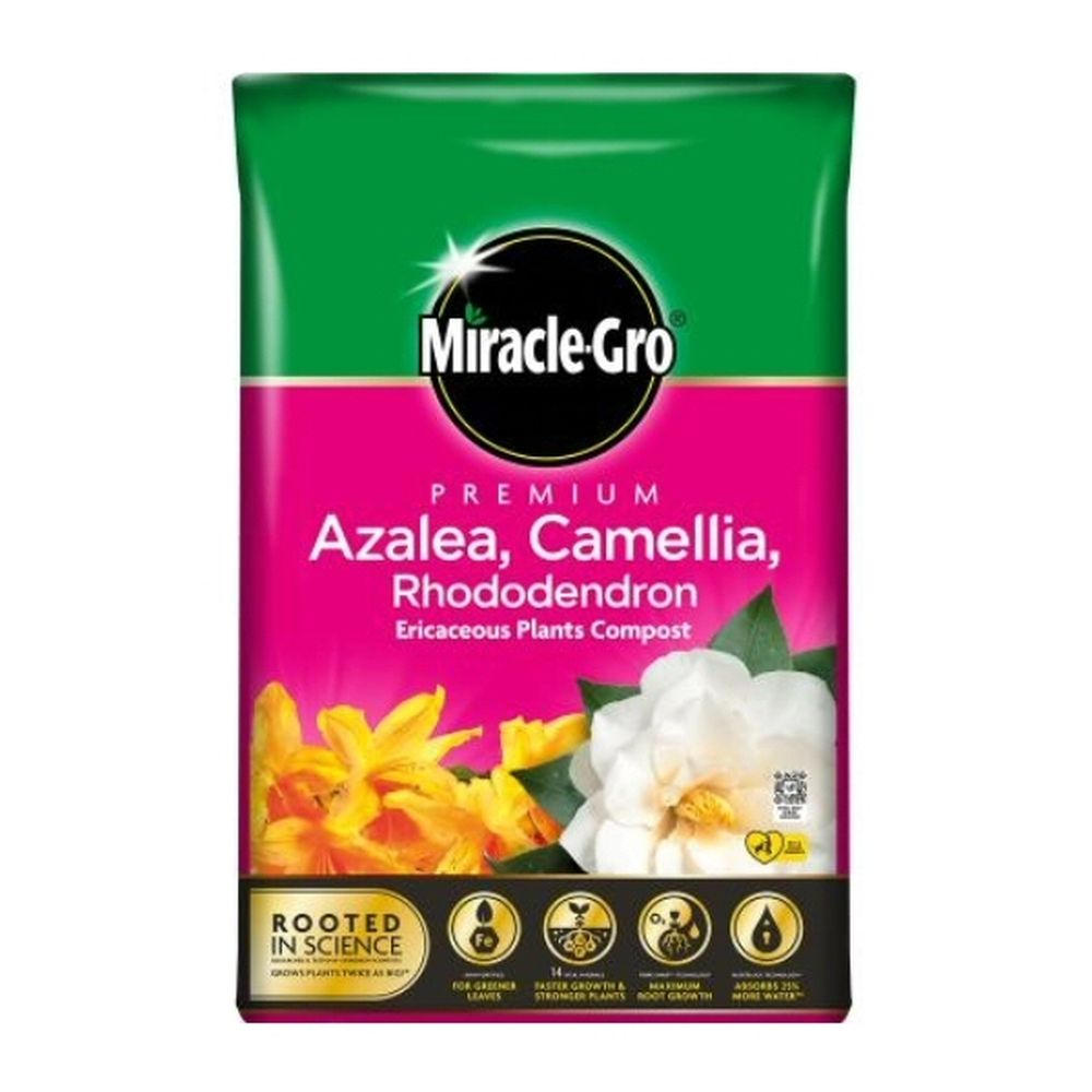 MIRACLE-GRO 40L ERICACEOUS COMPOST