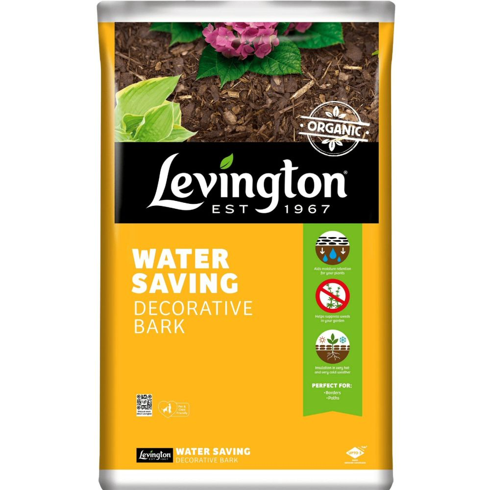 Levington 75 Litre Decorative Chipped Forest Bark