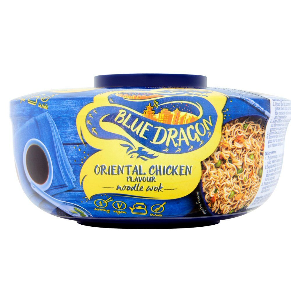 Blue Dragon Oriental Chicken Noodle Wok 65g