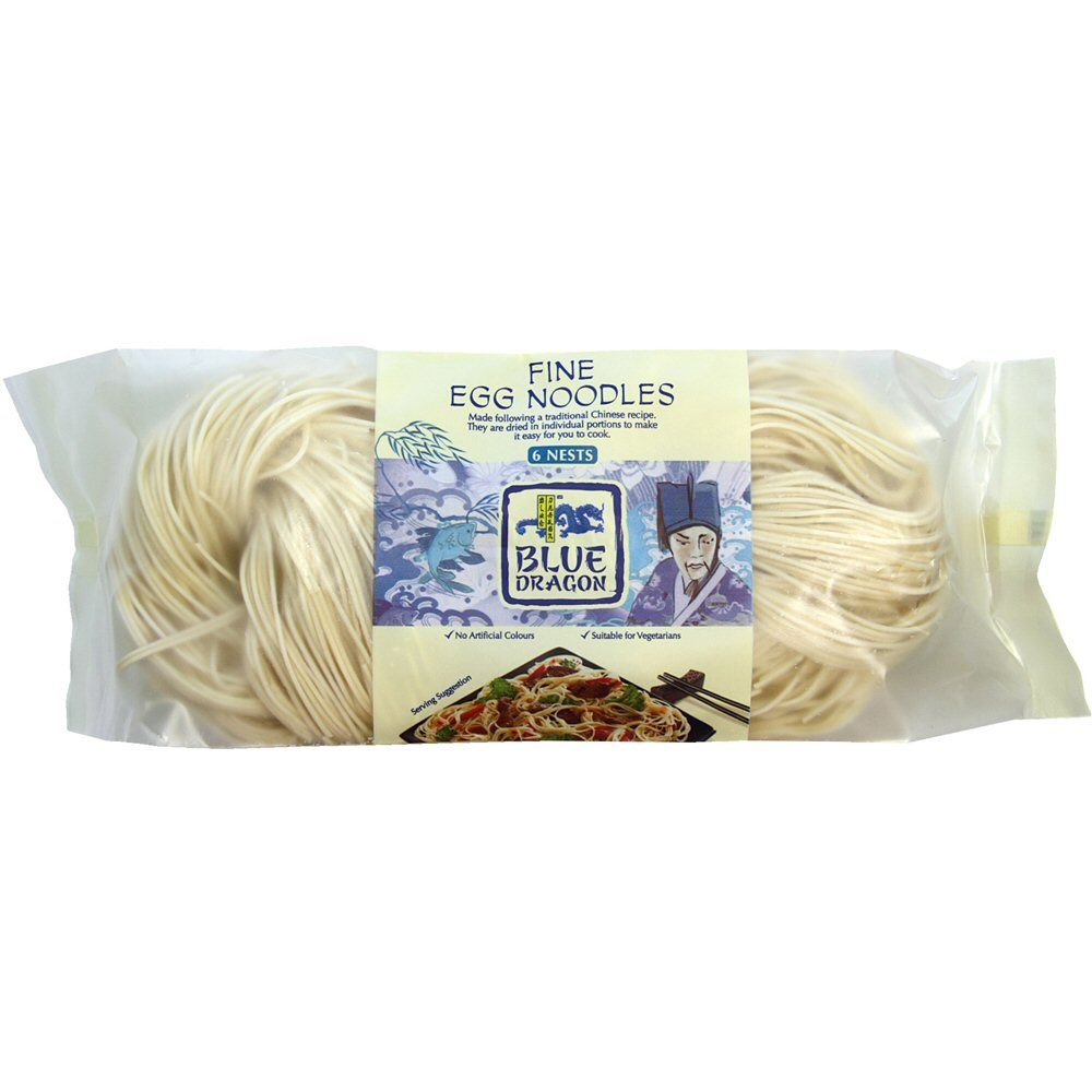 Blue Dragon 300g Fine Egg Noodle Nests