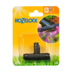 Hozelock 13mm T Pieces (Pack of 2)