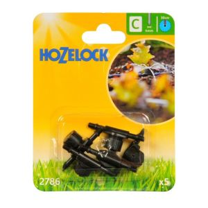 Hozelock 0-40 LPH Adjustable Mini Sprinklers (Pack of 5)