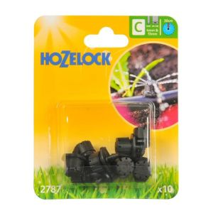 Hozelock 0 - 40 LPH Adjustable Mini Sprinklers (Pack of 10)