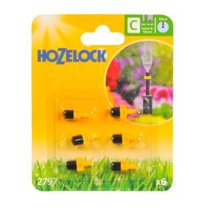 Hozelock Mist Micro Water Jets (Pack of 6)